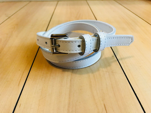 009a30db Vintage 1940's-50's style leather belts. Swankys Vintage skinny trouser  belts fit between 1/2