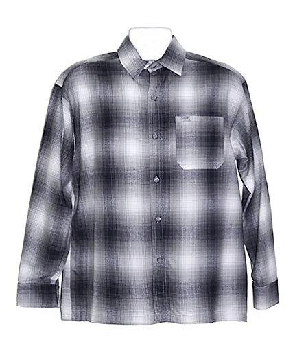 Grey Flannel Long Sleeve Shirt