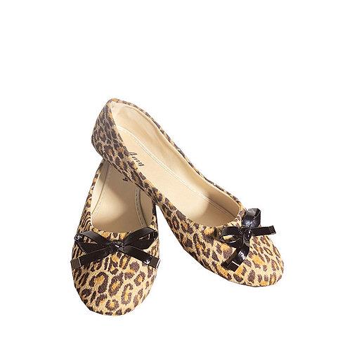 Rockabilly Leopard Flats