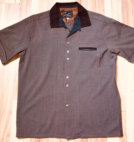 Sir Swanky Brown Camp Shirt