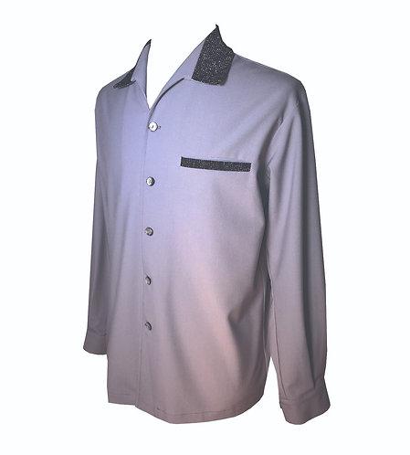 """Swankys Vintage """"Elvis"""" Earl Grey Shirt"""