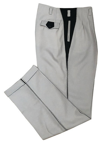 Swankys Vintage Iconic Grey w/Black Rock-n-Roll Slacks