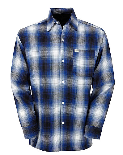 Royal Flannel Long Sleeve Shirt