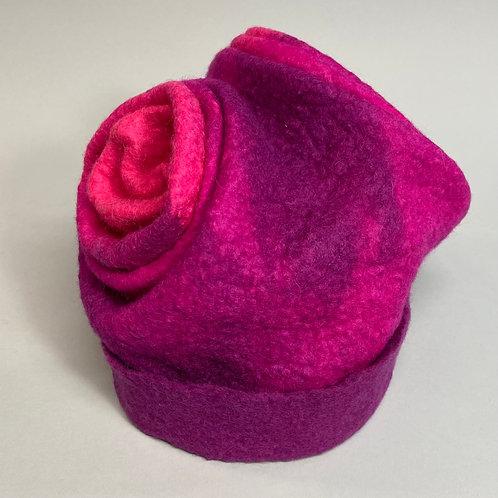 Hat in Fuschia