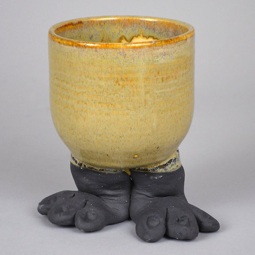 Foot cup in butterscotch