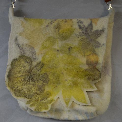 Eco printed purse