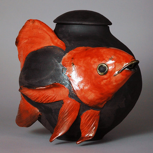 Gold fish jar