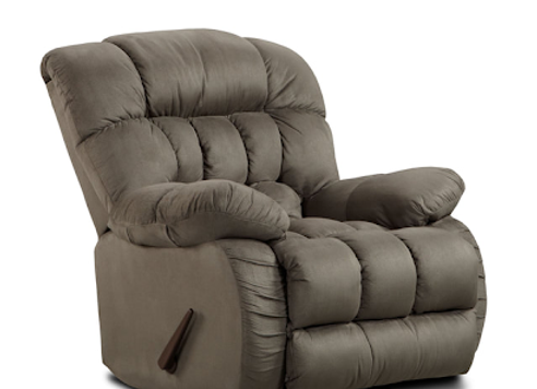 Recliner - 9200 Softsuede Graphite