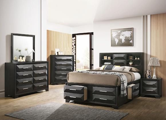 Bed - 1063 Aria Queen Storage