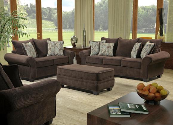 Living Room - 1000 Artesia Chocolate