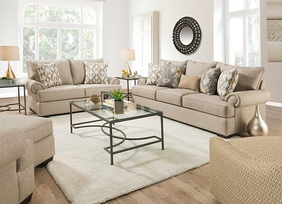 Living Room - 1082 Azure Wheat