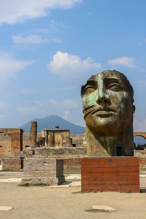 Pompeii art installation