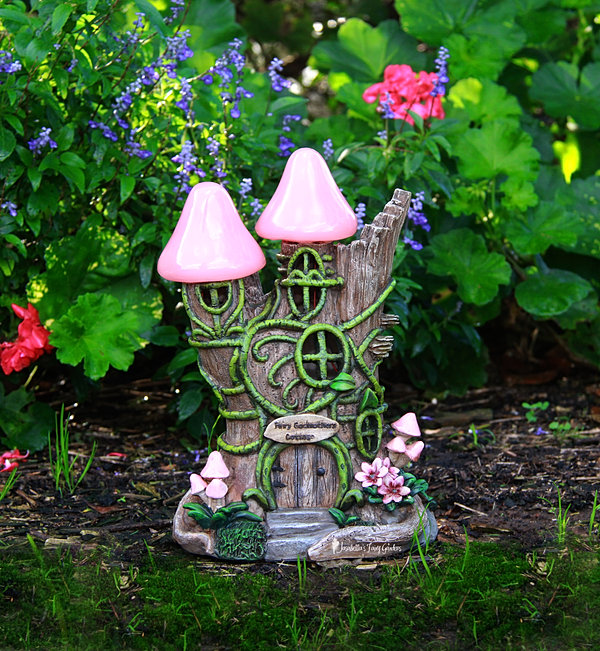 Jasabellau0027s Fairy Gardens Fairy Godmothers House Copy