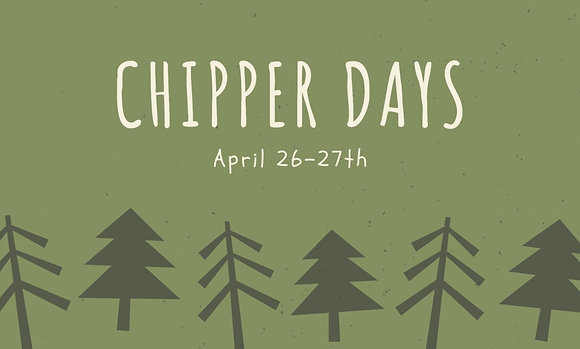 Spring Chipper Days Co-Pay