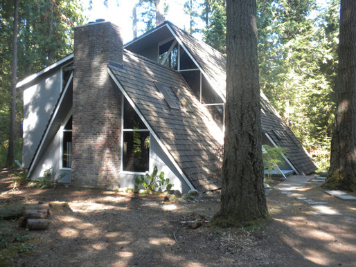Chalet Style A-Frame Homes