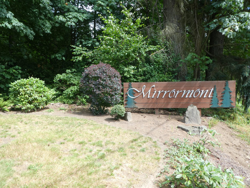 Infrastructure: Mirrormont's Front Entrance