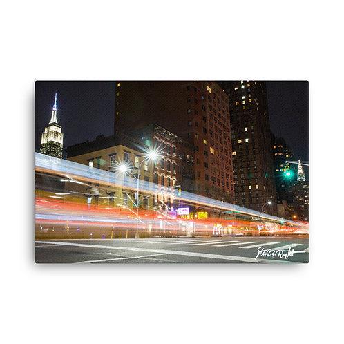 """Third Avenue - Canvas (24x36"""")"""