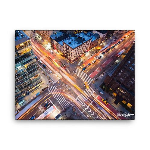 "Crosstown Traffic - Canvas (18x24"")"