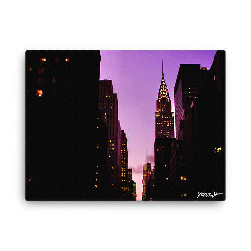 """42nd St - Canvas (18x24"""")"""