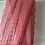 Thumbnail: Galon de dentelle rose corail grande largeur 16 cm