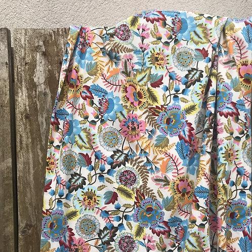 Jersey fleuri multicolore