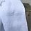 Thumbnail: Double gaze brodée blanche