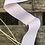 Thumbnail: ruban coton 3 cm rose / blanc cassé