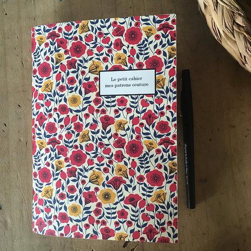 Le petit cahier mes patrons couture.