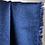Thumbnail: Crêpe gaufré bleu marine