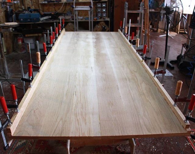 New dining table in the making _This one