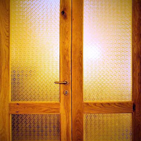 Yesterdays installation._Oak doors hand