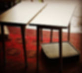2 tables waiting for the client (+_+)