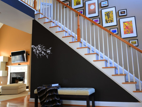 How to decorate your Stairway