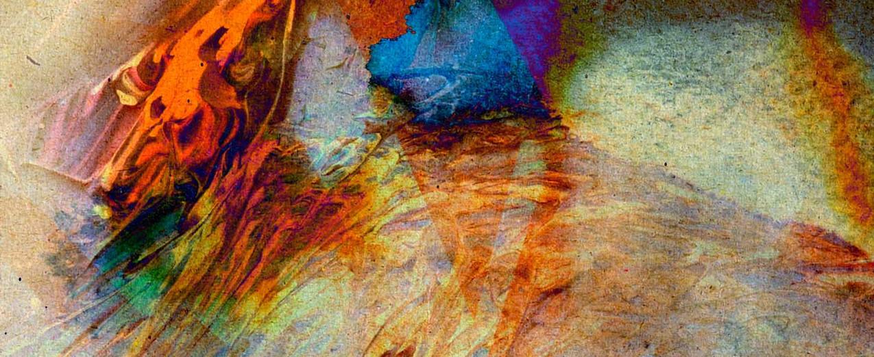 추상 물 색상