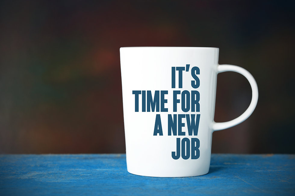 It's Time For A New Job, Business Concep