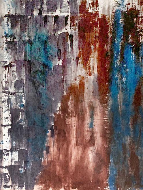 STRATIFICAZIONI 2 painting