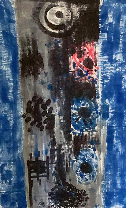 GORGONI painting