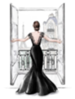 445 - Paris fashion illustration web .jp