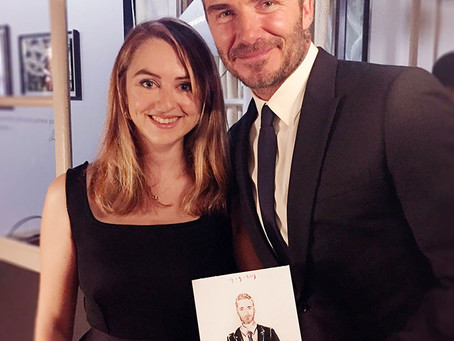 Live illustrations for Tudor Watch and meeting David Beckham in Paris