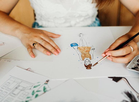 How I became a fashion illustrator - part 3
