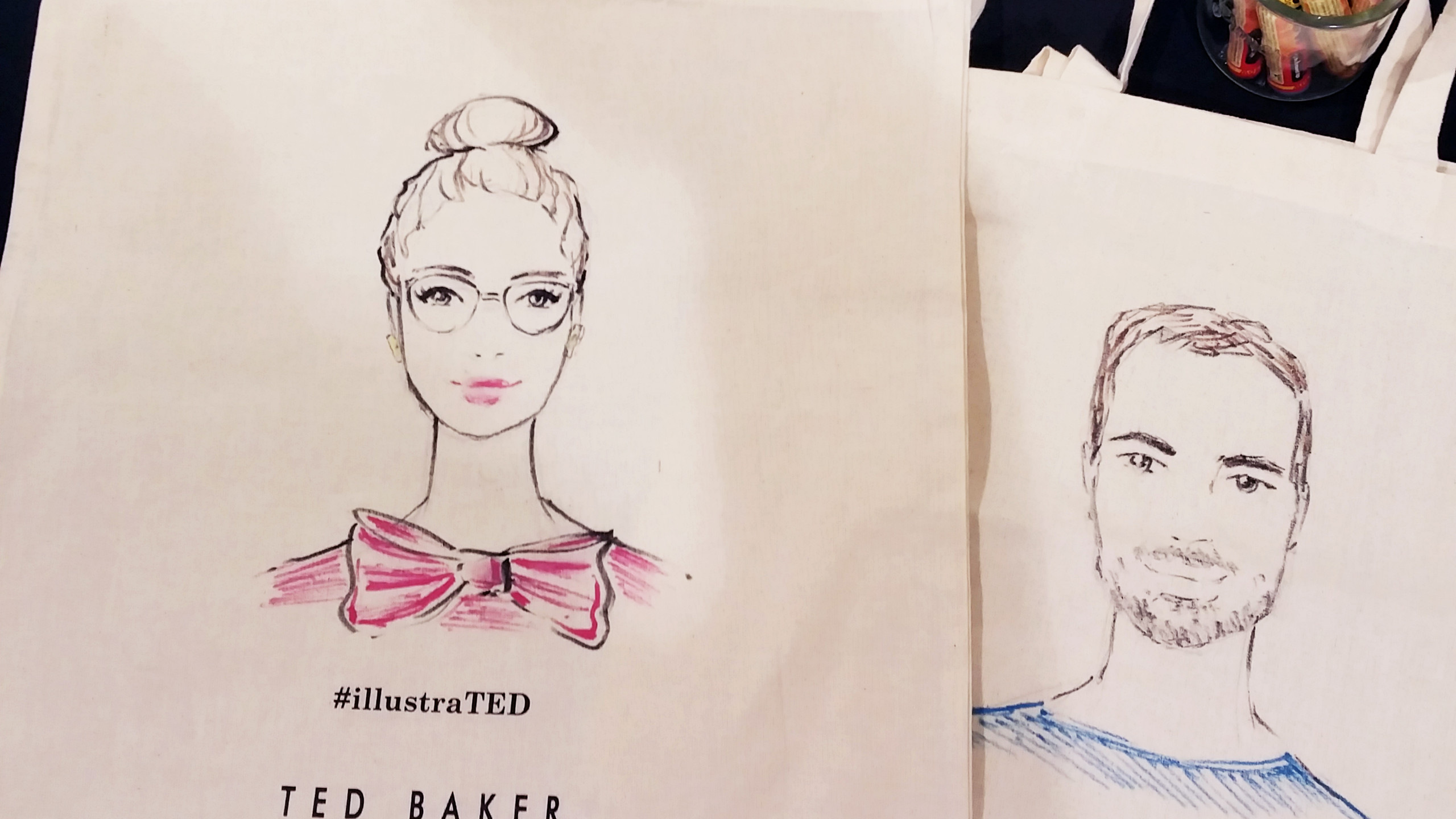Ted Baker totebags
