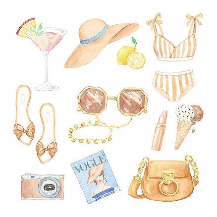 beach items illustration watercolor.jpg