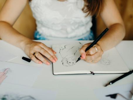 How I became a fashion illustrator - Part 1