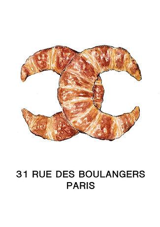 Croissants-chanel-logo-fashion-food-illu
