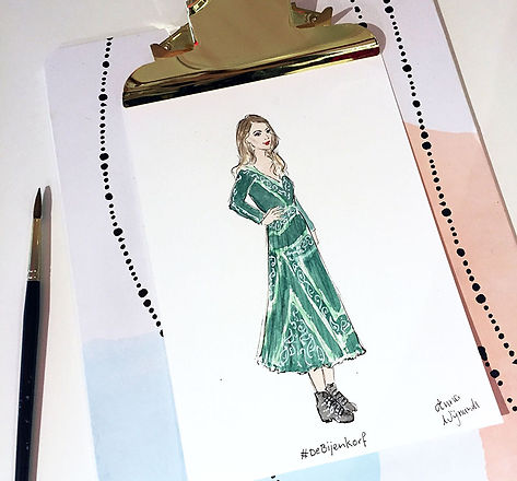 These are my highlights of 2018! | Anna's illustrations - Fashion