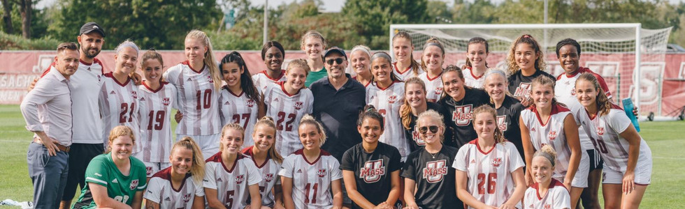 UMass Women's Soccer Team 2019
