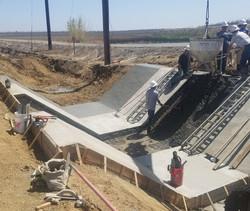 38-1 Trapezoidal Flume Construction