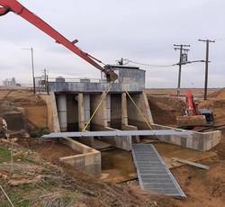 Cortena Pump walkway installation