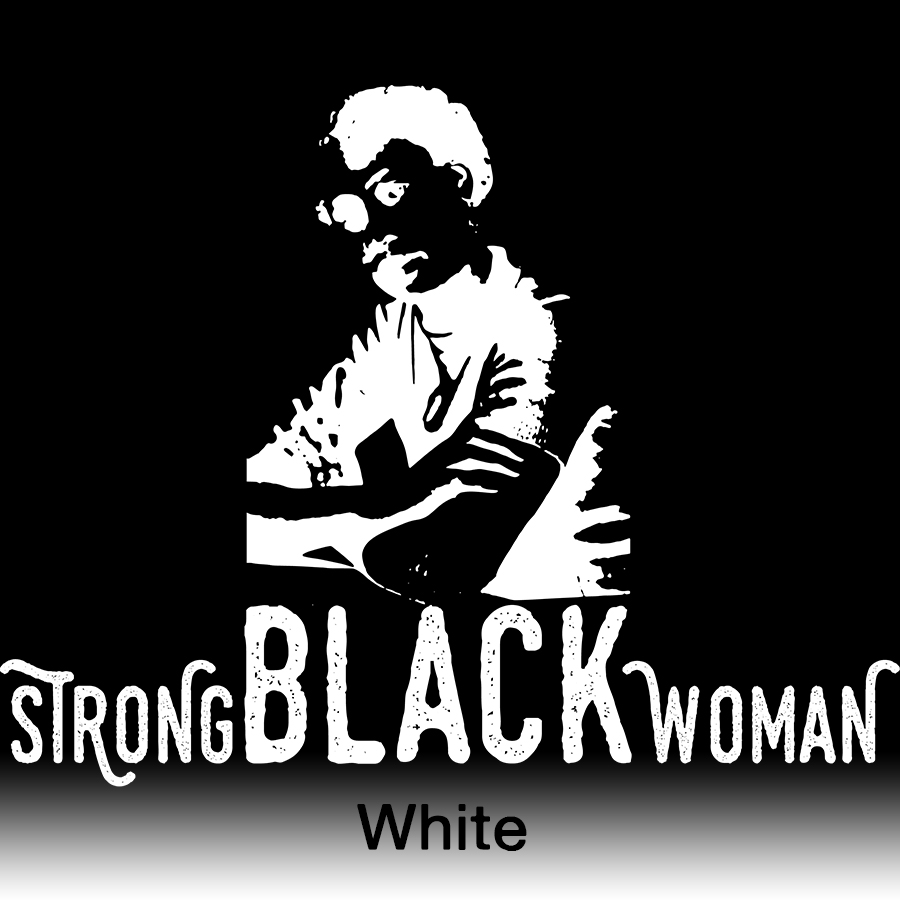 strong black woman White