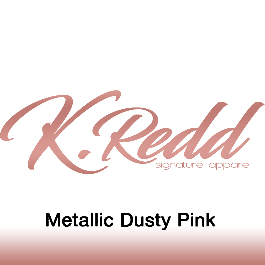 Kredd_Metallic Dusty Pink
